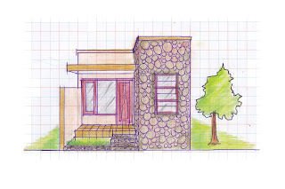 view of simple house plan 08