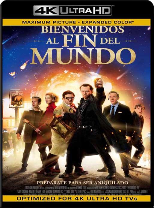 Bienvenidos al Fin del Mundo (2013) 4K 2160p UHD [HDR] Latino [GoogleDrive]