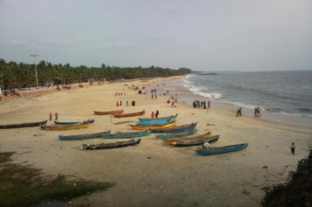 Kappad Beach in Kerala