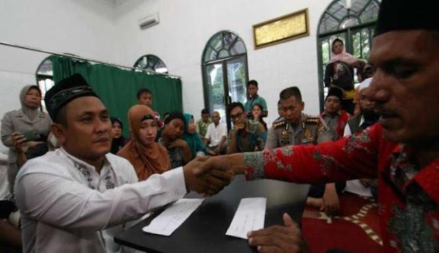 Imron Jual Sabu Untuk Biaya Nikah, Ijab Kabul di Tahanan