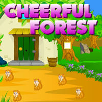 AvmGames Cheerful Forest Escape Walkthrough