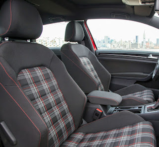 VW GTI plaid seats