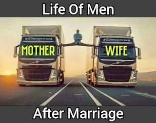 हर इंसान को कभी ना कभी बंधना ही पड़ता है.  फिर चाहे बह अपनी मर्ज़ी  के साथ शादी करे या फिर घरवालों की मर्ज़ी से. लेकिन शादी के बाद इंसान की जिंदगी पूरी तरह से बदल जाती है. इसी लिए आज हम आपके लिए कुछ ऐसी मज़ेदार तस्वीरें लेकर आये हैं जिन्हें देख आप अपनी हंसी नहीं रोक पाएंगे.