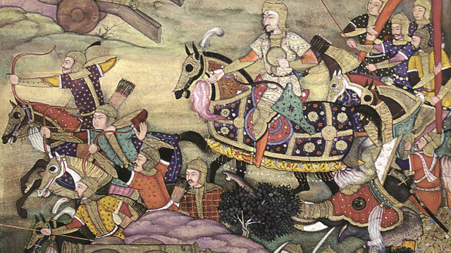 mughal invasion and battle between rana sanga and babur