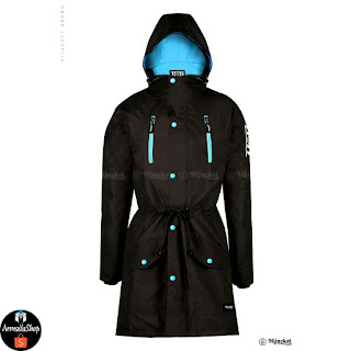 Hijacket Parka Montix Brown x Blue