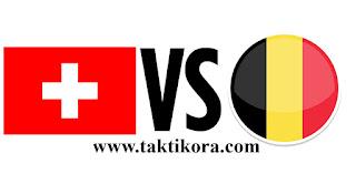 بلجيكا وسويسرا بث مباشر اليوم