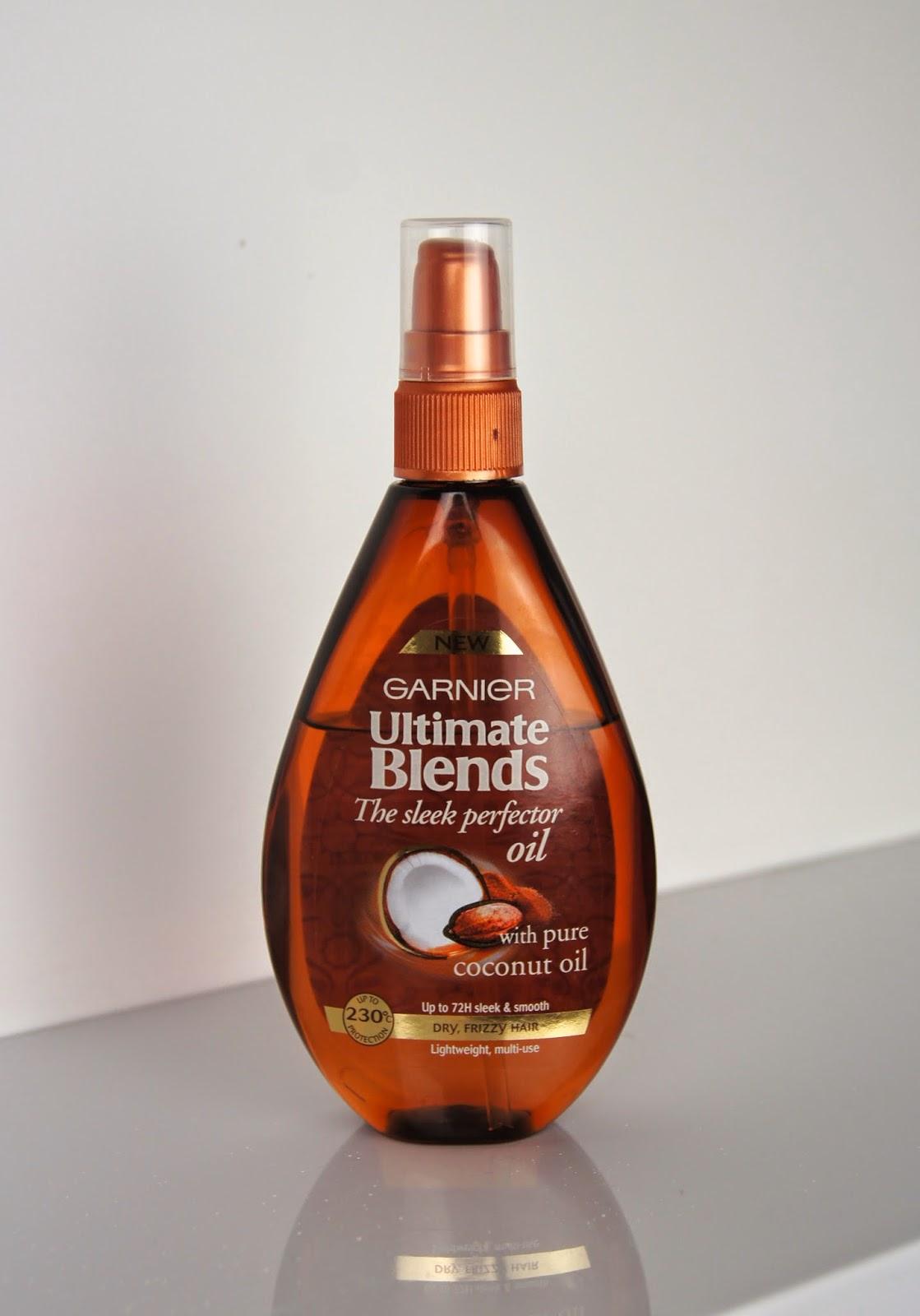 garnier ultimate blends the sleek perfecter hair oil review