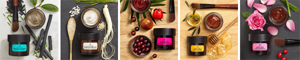 Les Nouveaux Masques Experts The Body Shop