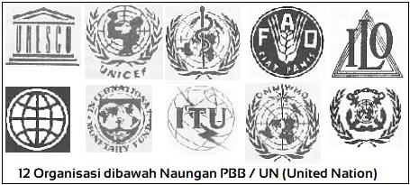 12 Organisasi dibawah Naungan PBB / United Nation (UN)