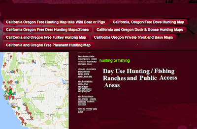 hunting and fishing clubs california orgeon