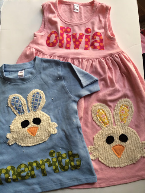 Coordinating Easter outfits for siblings