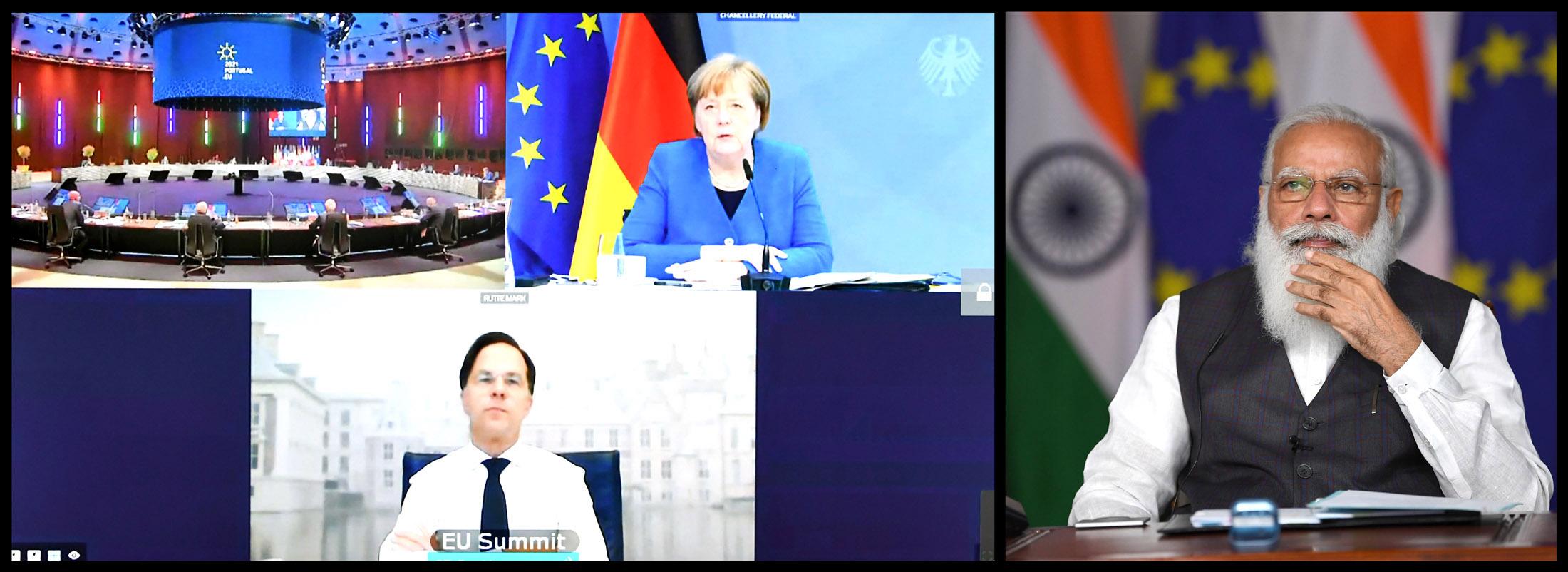 All 27 EU Member States meet Indian Prime Minister Narendra Modi