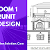40 x 54  (Feet) House Plan Design II Ghar Ka Naksha II 40 x 54  II House Plan  With Floor Plan and Front Elevation.