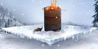 Perlu diketahui, saat api ranting menyala, pemain jangan terlalu jauh dari api ini, dikarenakan akan menurunkan suhu tubuh jika terlalu jauh, sehingga pemain harus berkumpul di sekitar tungku drum ini agar tetap hangat. Kelebihan item ini mampu menghangatkan seluruh team yang ada dalam area tungku hanya dengan satu tungku drum, namun ada juga kekurangannya yaitu nyala api akan terlihat di map serta pemain tidak dapat mobile (bergerak bebas/menjauh dari tungku drum) agar suhu tubuh tetap terjaga.