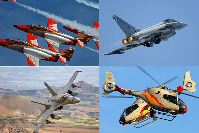 SPANISH AIR FORCE DEMO TEAMS SCHEDULE 2018