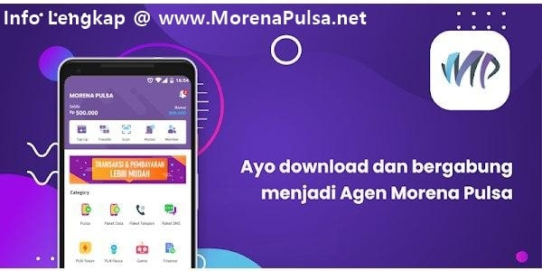 Mari Bisnis Jualan Pulsa Elektrik Murah All Operator Bersama MorenaPulsa.net CV Jasa Payment Solution