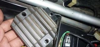 Penyebab Lampu Depan Motor Cepat Mati