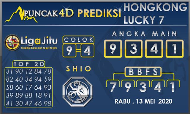 PREDIKSI TOGEL HONGKONG LUCKY 7 PUNCAK4D 13 MEI 2020