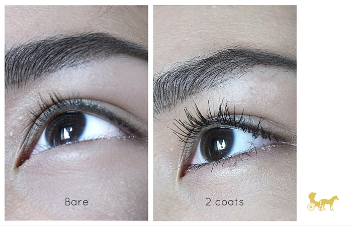 Wet n wild megaplump waterproof mascara review 4