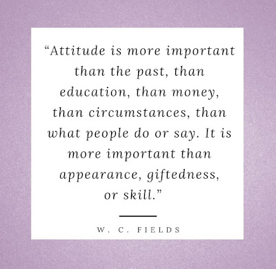 Meaning of right attitude to work