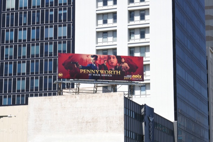 Pennyworth Epix series billboard