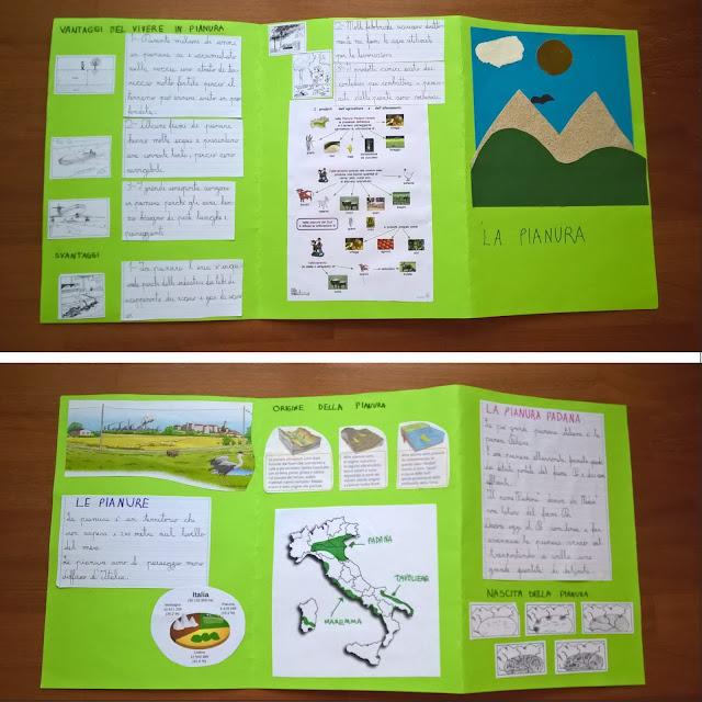 lapbook pianura scuola primaria