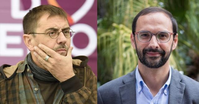 Monedero y Víctor Mora