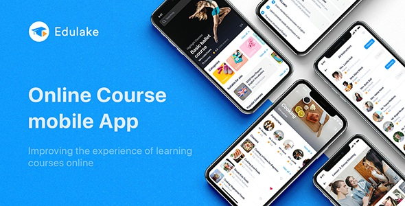 Online Course UI Kit for Sketch