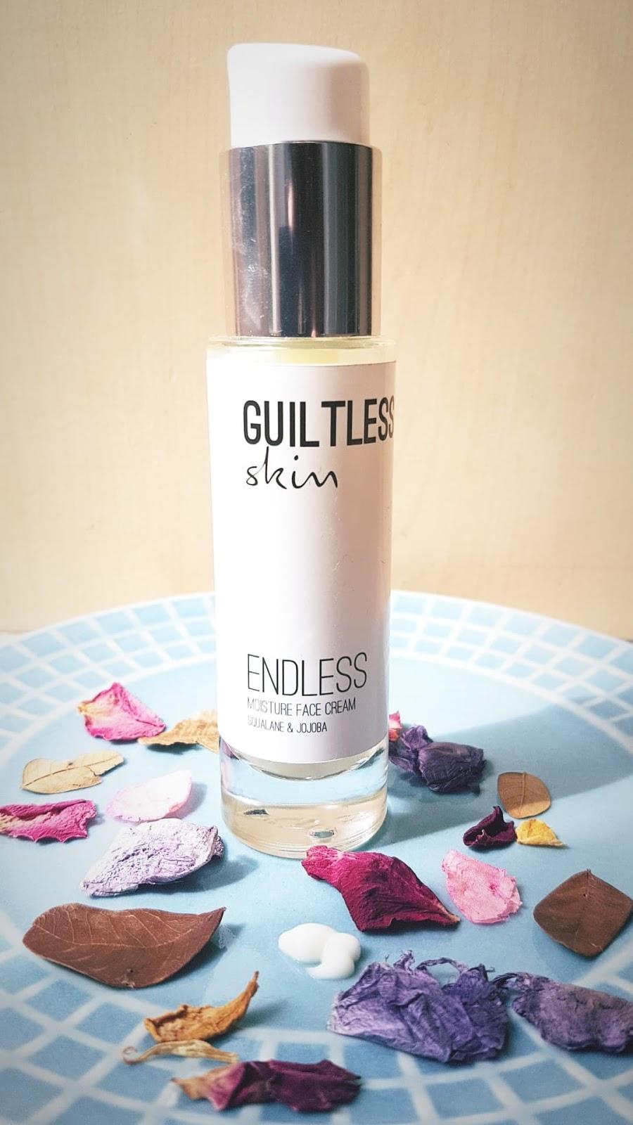 Guiltless Skin Endless Moisture Face Cream Review
