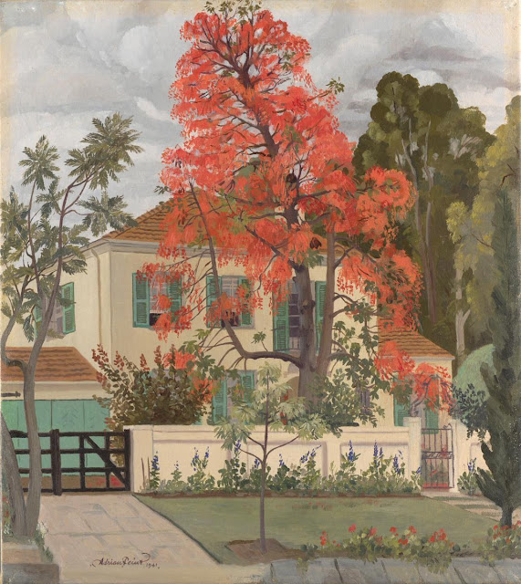 Adrian Feint - The Illawarra flame tree