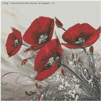 Schemi punto croce: 20 schemi di fiori in offerta