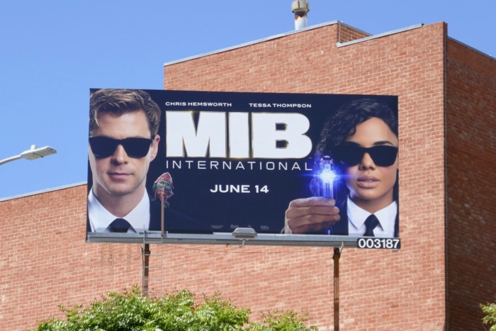 MIB International billboard