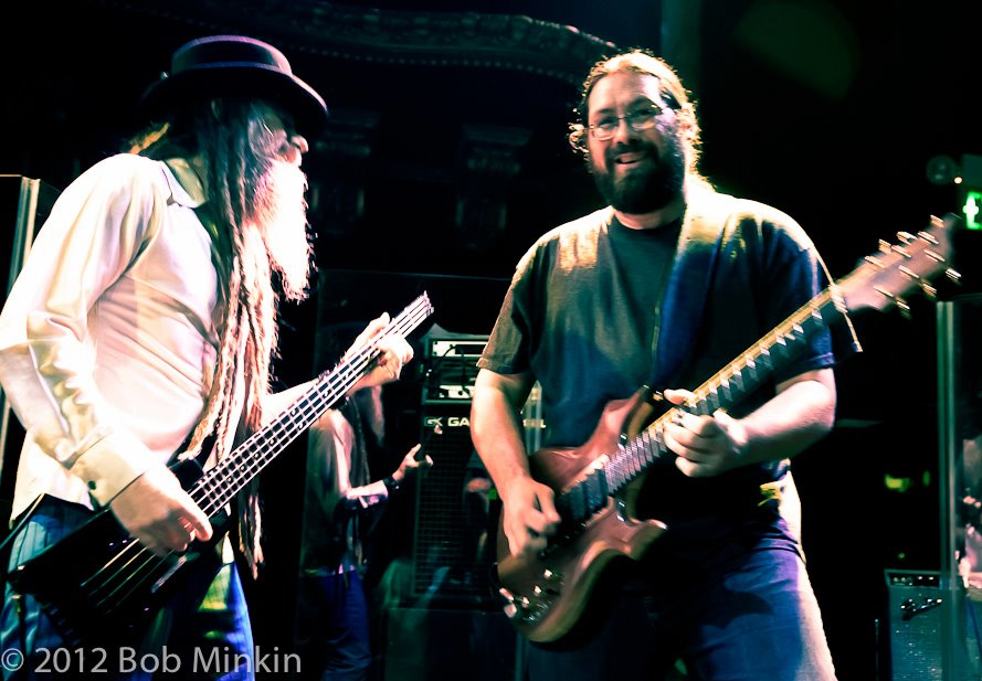 Jimmy Tebeau and Dave Hebert photo by Bob Minkin