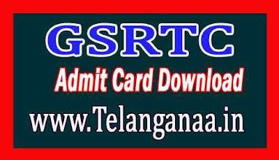 GSRTC Admit Card Download
