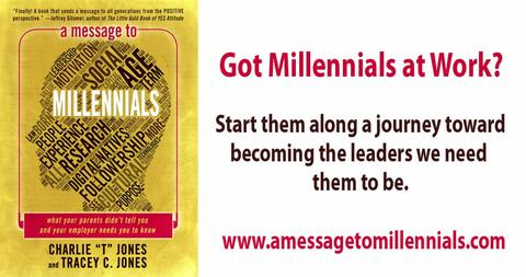 A Message to Millennials book