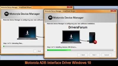 Motorola ADB Interface Driver Windows 10