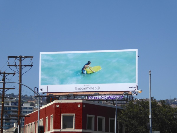 Shot on iPhone 6s Aneta G Boogie board billboard