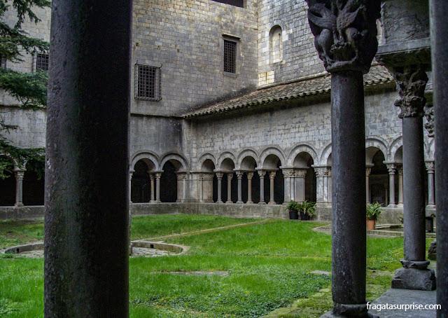 Claustro românico da Catedral de Girona