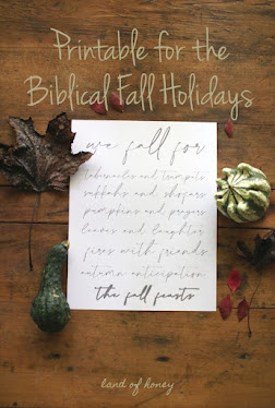 We Fall for the Fall Feasts Printable