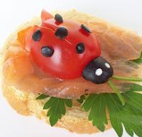 рецепт бутерброда божья коровка с фото