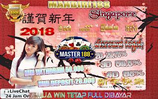 Prediksi Togel Online Singapore Tanggal 08 February 2018 Kamis