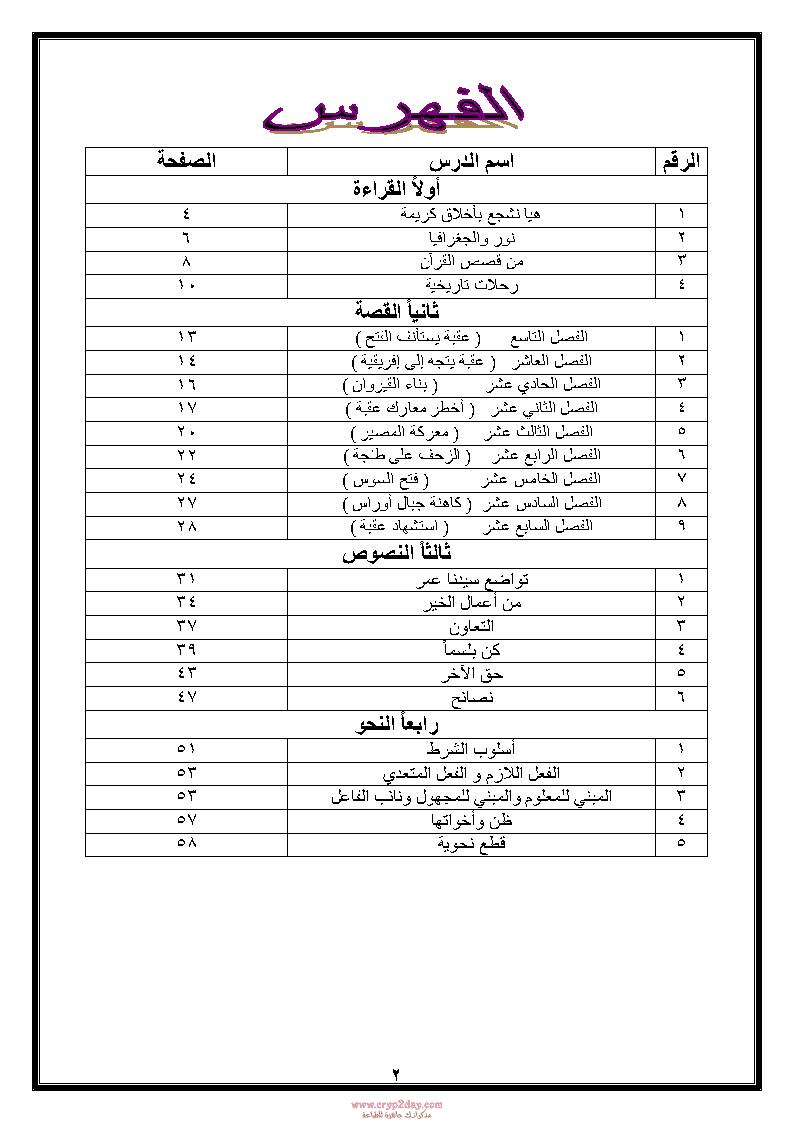مذكرة سحر البيان فى اللغة العربية للصف الاول الاعدادي الترم الثاني