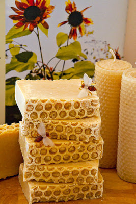 Hadrian's Wall Honey & Goat's Milk Soap by Oakwood Soaperie