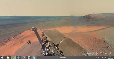 موقع رائع يمكنك زياره كوكب المريخ بتقنية 3D