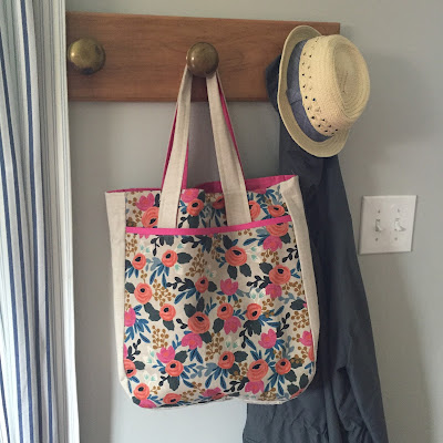 The Perfect Bag: A Rifle Paper Co. Super Tote