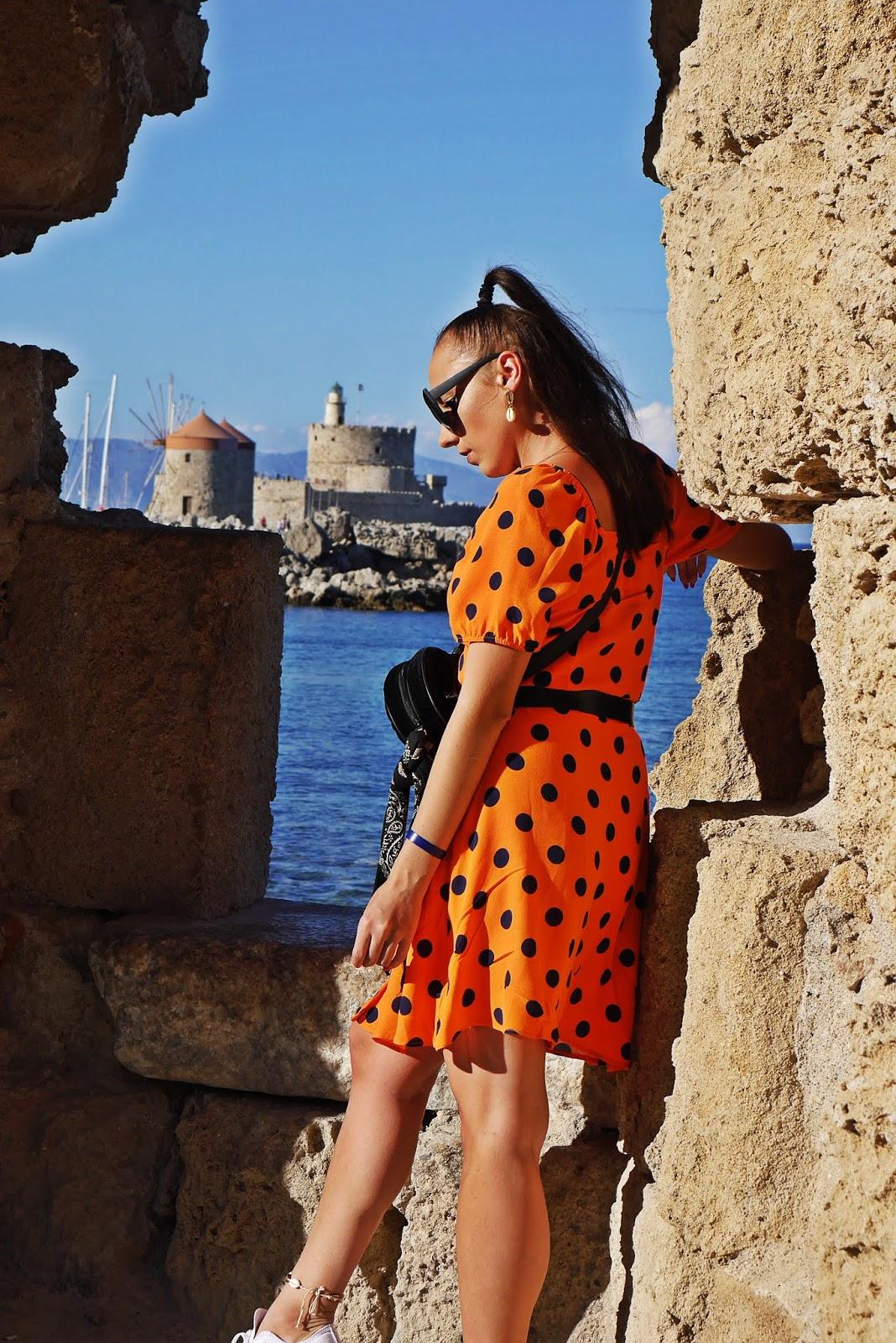 port rodos rhodes grecja  karyn blog modowy blogerka modowa podróź poślubna