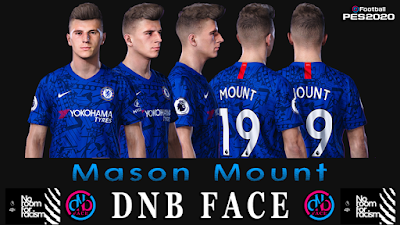 PES 2020 Faces Mason Mount by DNB