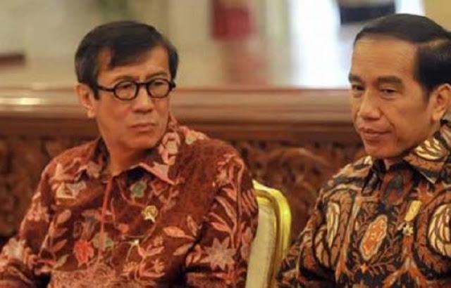 30 Ribu Napi Bebas Masyarakat Resah, Pengamat : Jokowi Diminta Evaluasi Yasonna Laoly