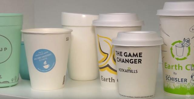 """""""ستاربكس"""" و""""ماكدونالدز"""" تطوران أكواباً ذكية قابلة لإعادة الاستخدام مصنوعة من البلاستيك"""