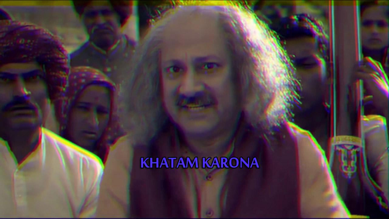 KHATAM KARONA LYRICS in Hindi - Emiway Bantai
